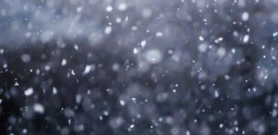 東京今天下起初雪了!