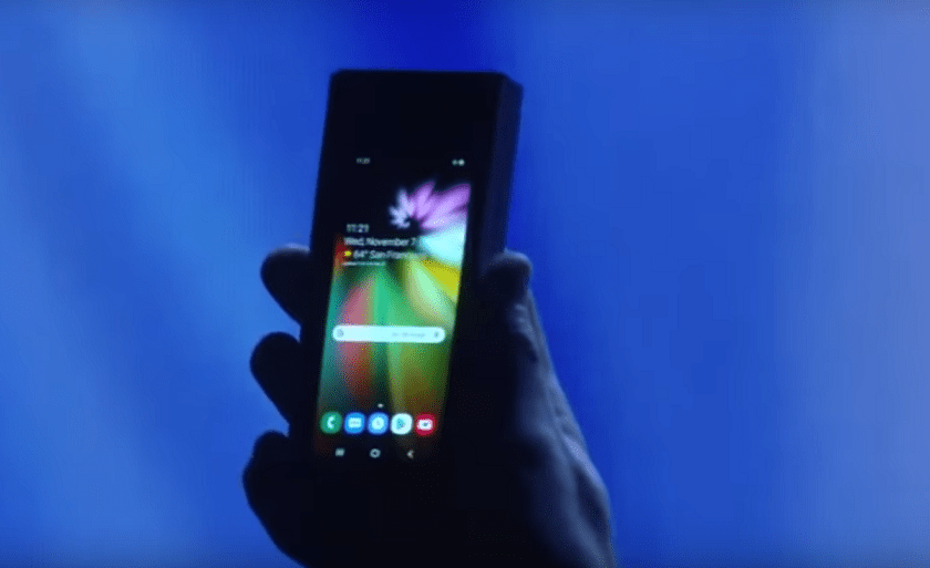 Samsung's Foldable Phone  Galaxy F Price And Release Date
