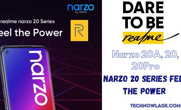 Narzo 20 Series Feel the Power Realme