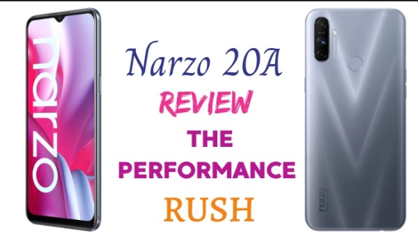 Narzo 20A Realme the performance Rush