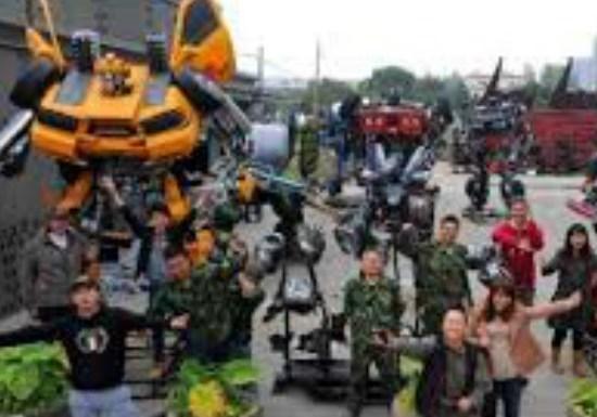 Mr. Iron Robot Theme Park