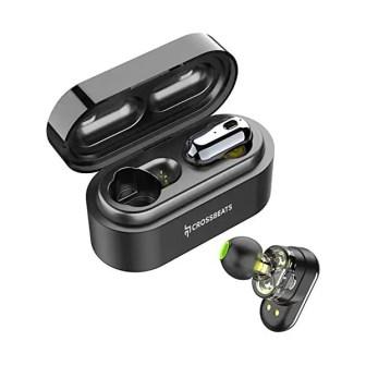 CrossBeats Elektra Dual Driver True Wireless Earbuds