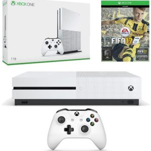 Xbox One S 1TB Console with FIFA 17 Bundle