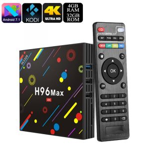 H96 MAX 4GB/64GB Android 7.1 Smart TV Box