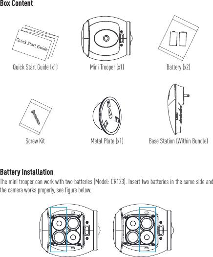 EZVIZ Mini Trooper Wire-Free IndoorOutdoor Security Camera