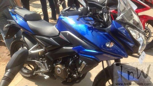 Spy Pics: Bajaj Pulsar AS (Adventure Sports) spied. Not in India