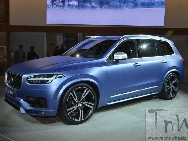 2015 NAIAS Detroit: Volvo XC90 R Design [Image Gallery]