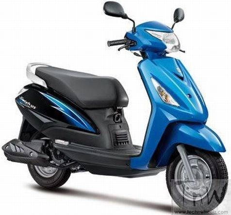 2015 Suzuki Swish 125 facelift coming this month