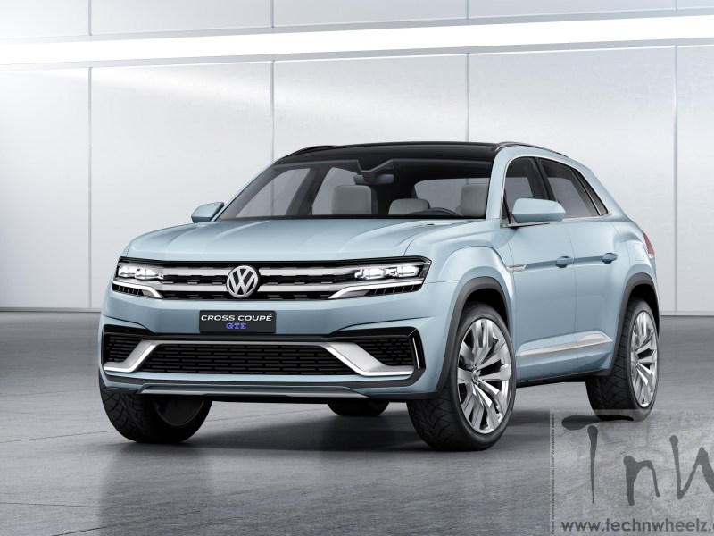 2015 NAIAS Detroit: Volkswagen unveils 5-seater Cross Coupé GTE