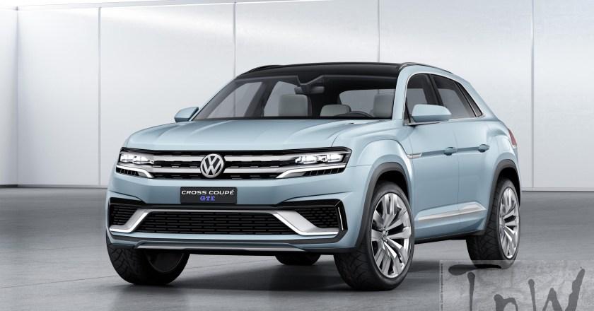 2015 NAIAS Detroit: Volkswagen unveils 5-seater Cross Coupé GTE