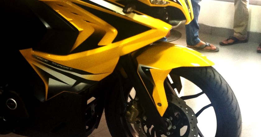 Bajaj Pulsar RS200 detailed in images