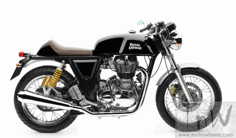 Royal Enfield Continental GT café racer gets new Black colour