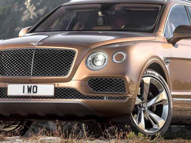 Image Gallery: Bentley Bentayga SUV