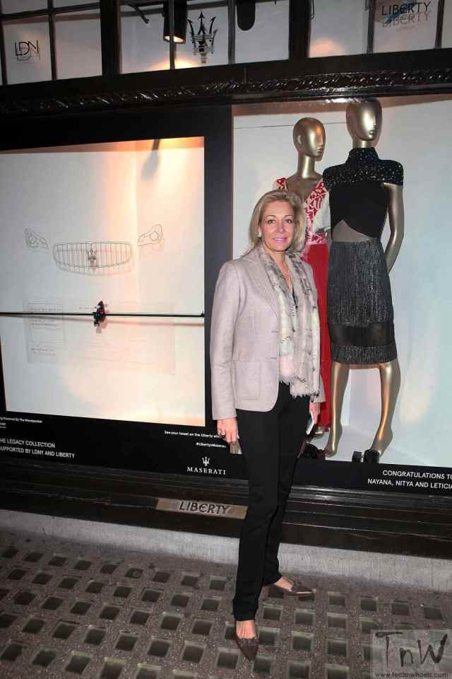 Nadja Swarovski at The Legacy Collection Launch Event with LDNY Foundation at Liberty London