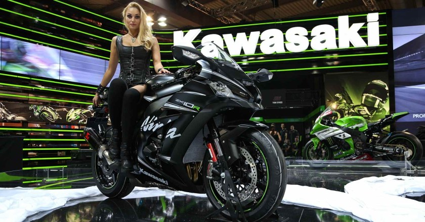 Bikes and babes from EICMA, Milan 2015