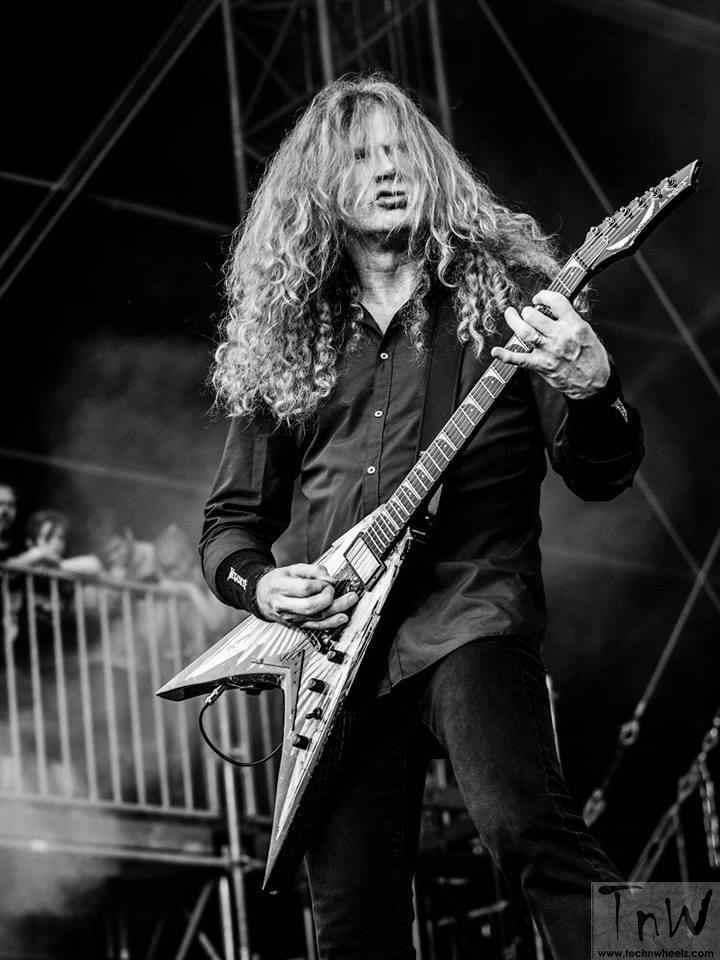 Megadeth performing at HRR