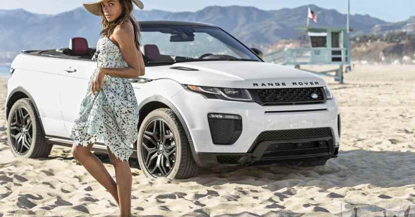 Bond star Naomie Harris introduces new Range Rover Evoque Convertible