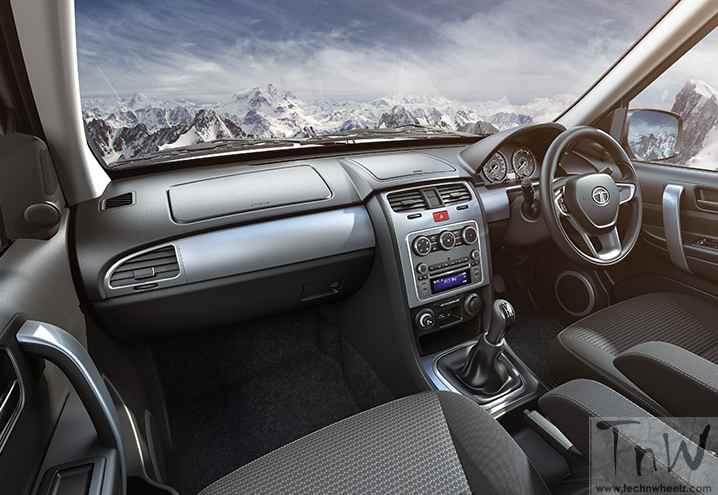 Tata Safari VX VARICOR 400 Dash Board
