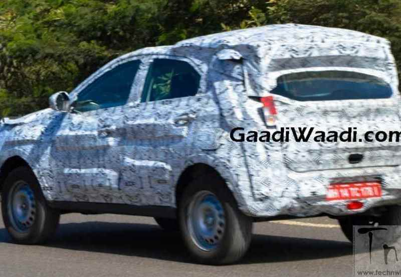 Tata X104 (Nexon/Osprey) spied on test. 2016 Delhi Auto Expo unveil