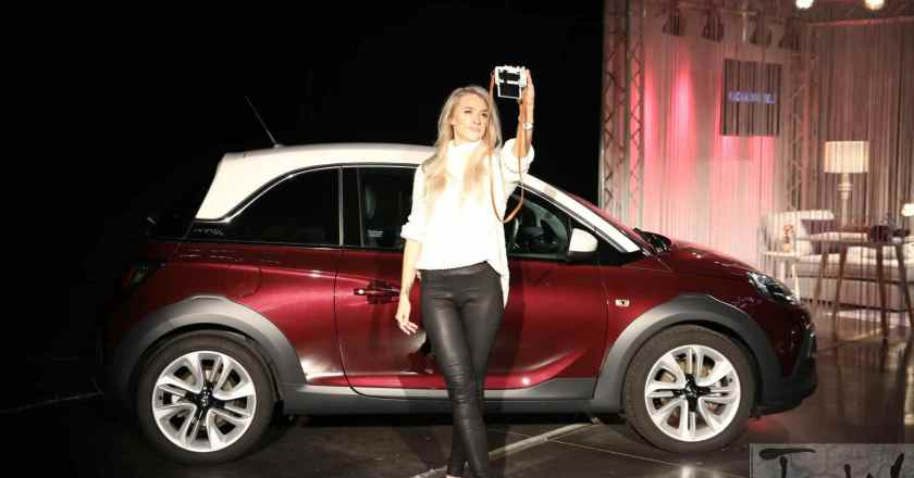 Vauxhall Motors launches #ADAMYOURSELF