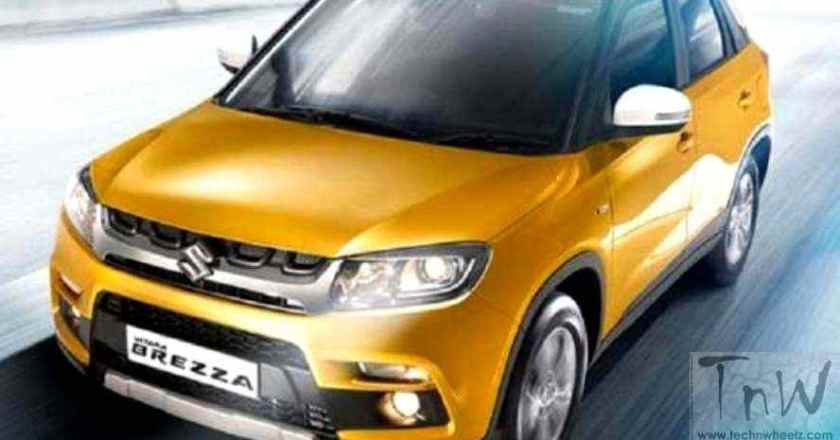 Maruti Suzuki Vitara Brezza images leaked. Variants in detail