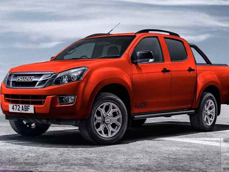 Isuzu launches D-Max Blade in Venetian Red. Marks 100th anniversary of company