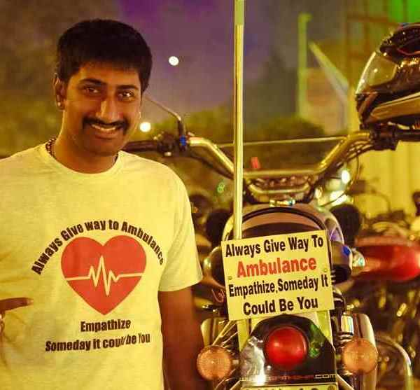 In conversation with Kalyanaraman Venkatesan- a biker and social activist