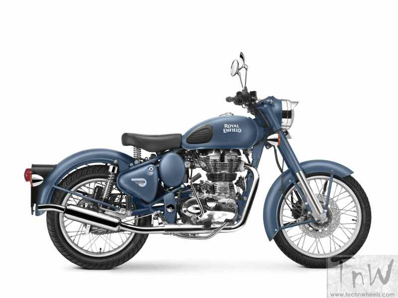 Royal Enfield launches Squadron Blue colour for its Classic 500 range
