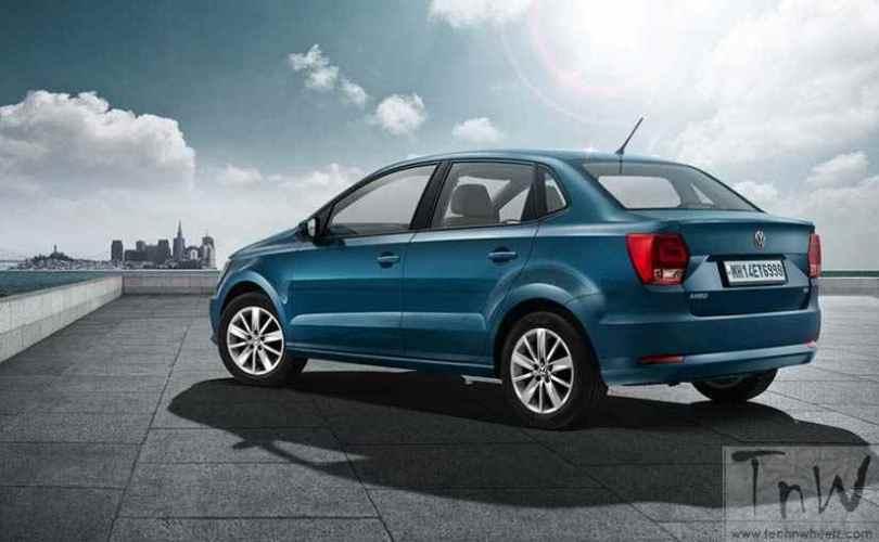 Volkswagen Ameo compact sedan (2)