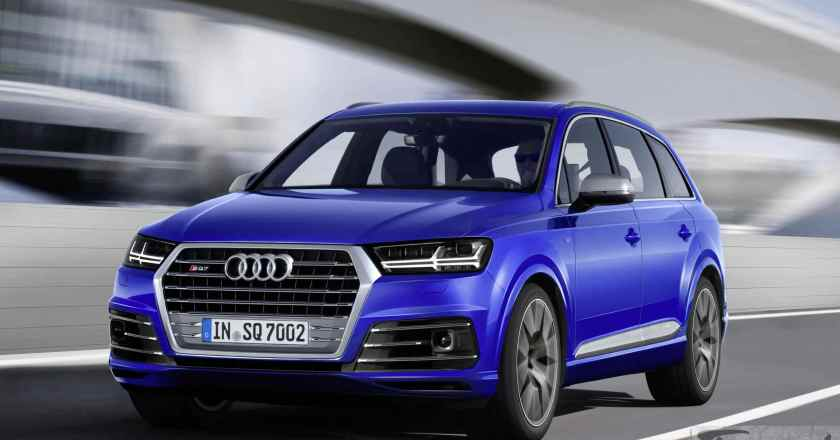 Audi SQ7 TDI with electric turbo unveiled at Geneva Show