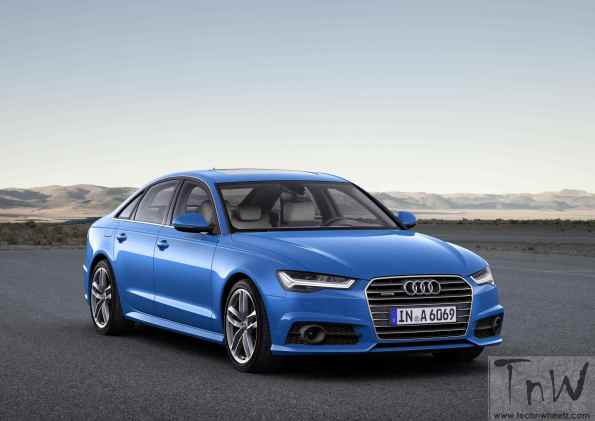 Audi updates the A6 Saloon. Image gallery inside