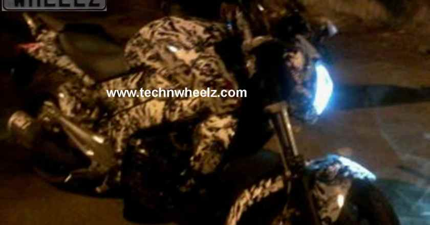 Exclusive Scoop !! Bajaj Pulsar CS400/CS200 spotted heavily camouflaged