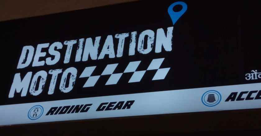 Destination Moto- Motorcycle enthusiasts new pin on the map