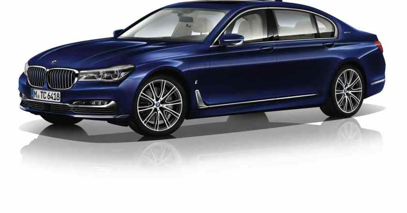 BMW 7 Series Individual to mark the company's centenary year. Limited to 100 units globally