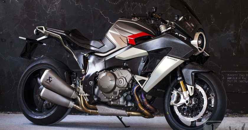 Aldo Drudi's Burasca 1200 Concept based on Honda VFR1200F