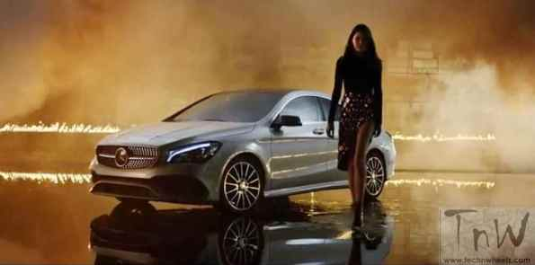 Mercedes-Benz fashion film Burning Desire with rebellious CLA