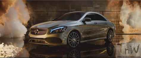 Mercedes-Benz fashion film Burning Desire with rebellious CLA (1)