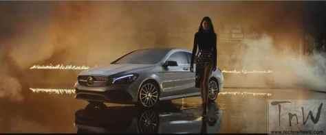 Mercedes-Benz fashion film Burning Desire with rebellious CLA (3)