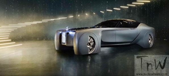 Rolls-Royce 103EX defines the future of luxury mobility