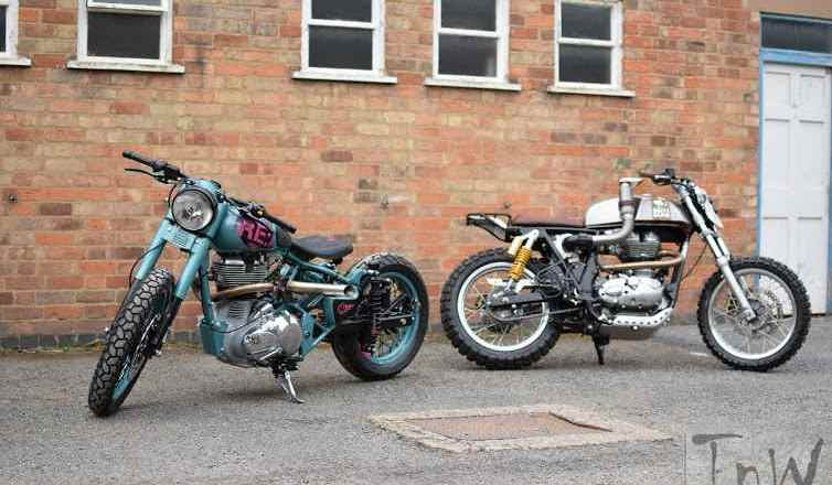 Royal Enfield unveils custom built motorcycles – Mo' Powa' and Dirty Duck