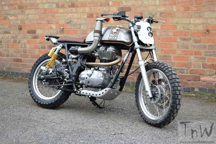 W_W_Customs Royal Enfield Dirty Duck
