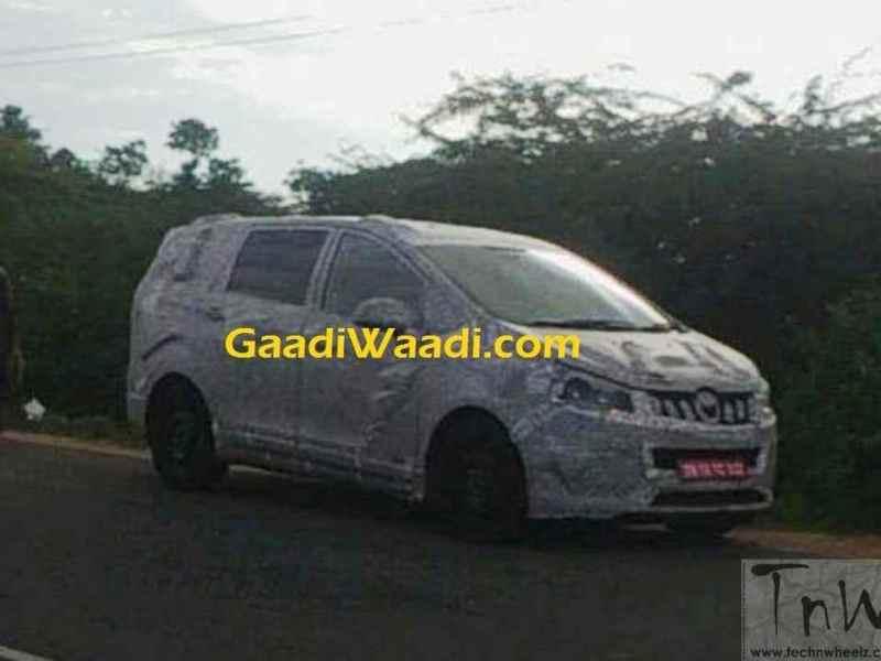 Mahindra U321 / TUV500 MPV to take on Innova Crysta and Hexa