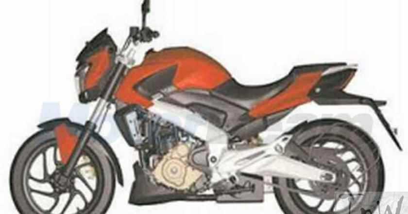 Patent design of Bajaj Pulsar CS400 leaks online