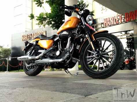 Vintage Barrel Harley-Davidson Iron 883 (18)