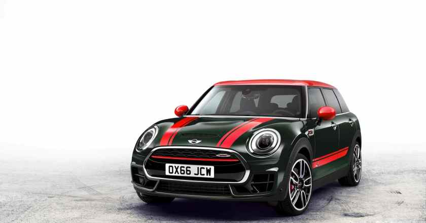Paris Motor Show:  MINI John Cooper Works Clubman