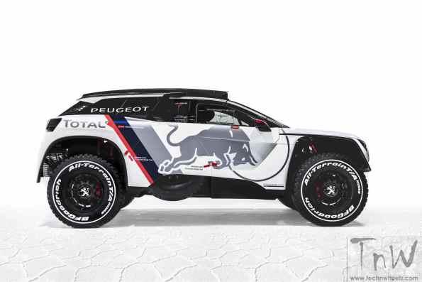 Video: PEUGEOT 3008 DKR ready for the 2017 Dakar Rally