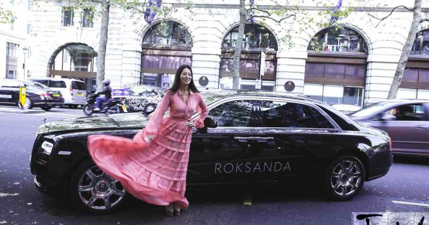 Rolls-Royce teams up with Roksanda for London Fashion Week