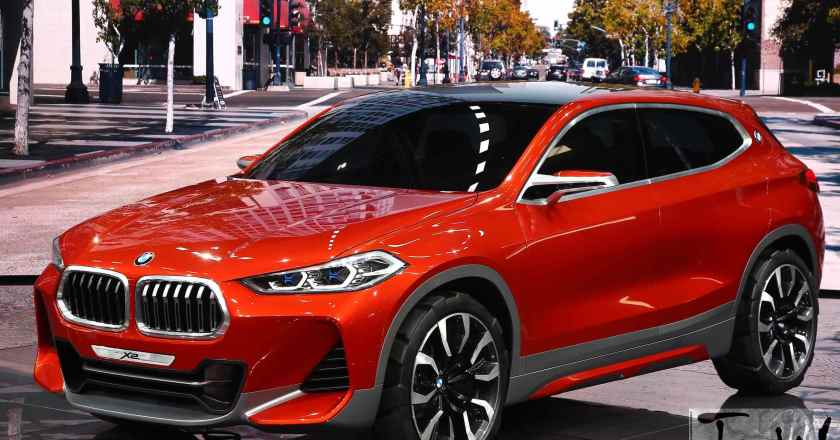 Paris Motor Show: BMW Concept X2 debuts. Breaks design code