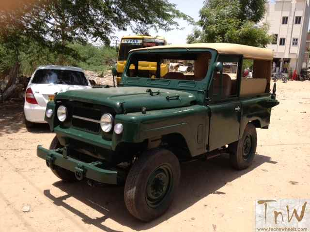 Update: SOLD !! TnW Motomart: 1971 Nissan Patrol aka Jonga for sale