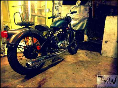 RAJDOOT-175 RELOADED by Ayas Customs r